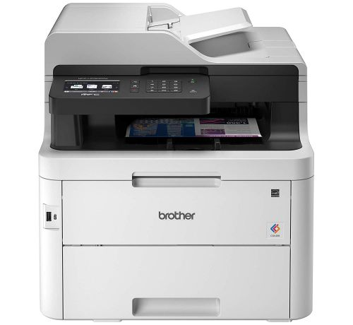Brother MFC-L3750CDW A4 Colour Laser Multifunction Printer Wireless