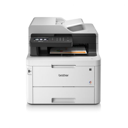 Brother MFC-L3770CDW A4 Colour Laser Multifunction Printer Wireless
