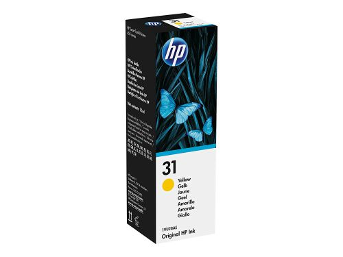 HP 1VU28AE 31 Yellow Ink Bottle 8K