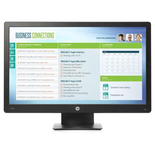 HP ProDisplay P223 21 5 Inch Monitor (Full HD resolution: 1920 x 1080)  X7R61AT#ABU