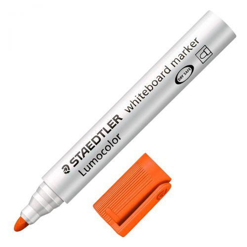 Staedtler 351 Lumocolor Whiteboard Marker Orange PK10