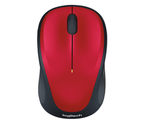 Logitech M235 Red Wireless Mouse