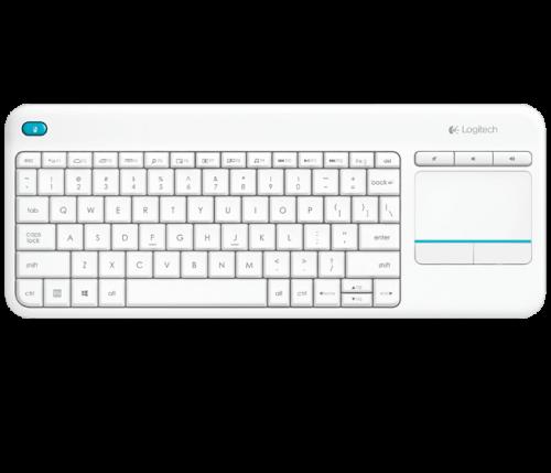 Logitech K400 Plus White Keyboard