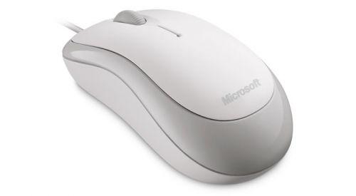 Microsoft White Optical Mouse USB