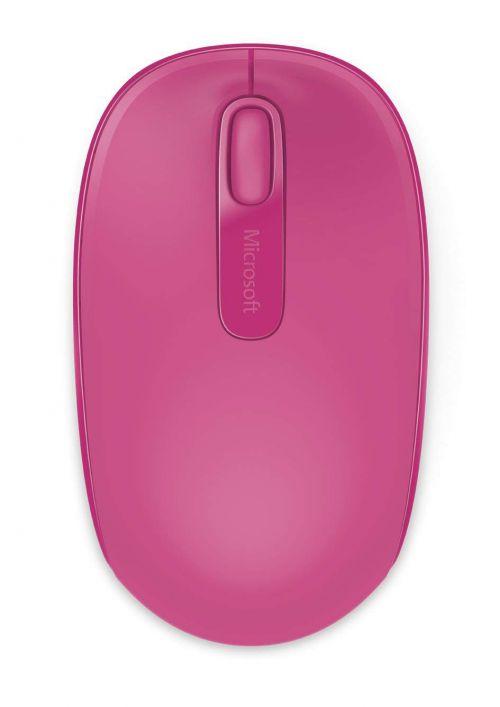 Microsoft Wireless Mouse 1850 Magenta Pink