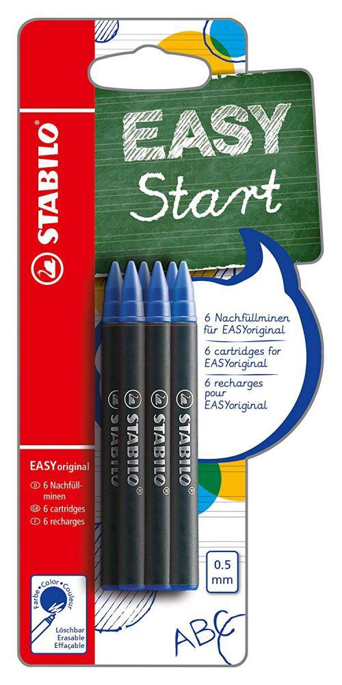 Stabilo EASYoriginal Refill Blue PK6