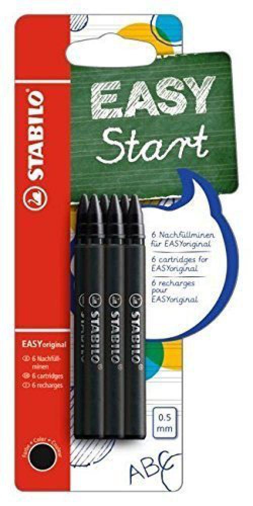 Stabilo EASYoriginal Refill Black PK6