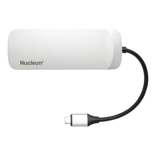 7PT Nucleum USBC Hub USB 3.0 HDMI SD mSD