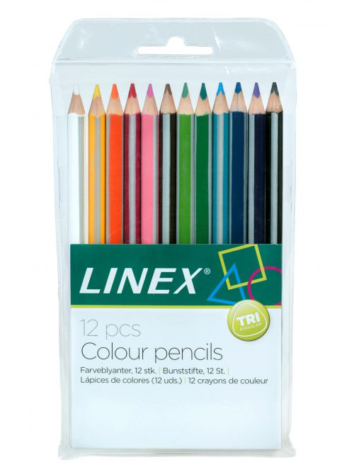 Linex Colouring Pencils Pack of 12