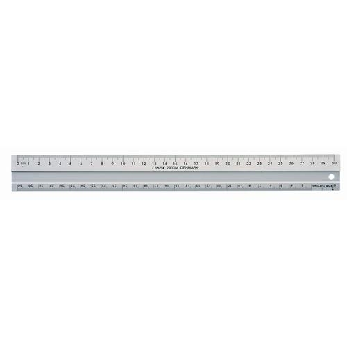 Linex 30cm Hobby Aluminium Ruler LX E2930M