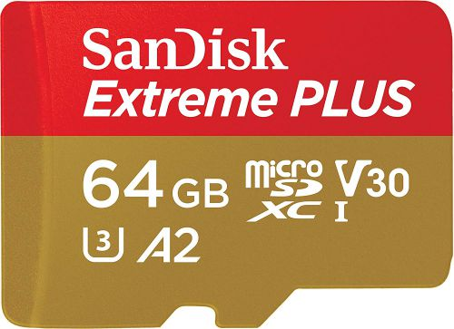 SanDisk Extreme Plus 64GB Micro Sdxc