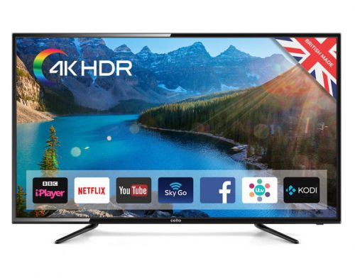 Cello 58in C58SFS4K 4K UHD LED TV