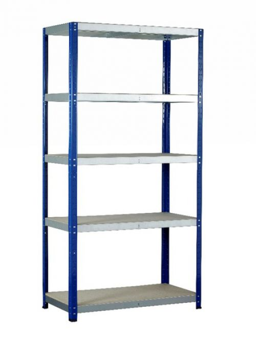 Eco-Rax H1800xW900xD600mm c/w 5 Chipboard Shelves