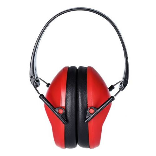 Slim Ear Muff One Size Red
