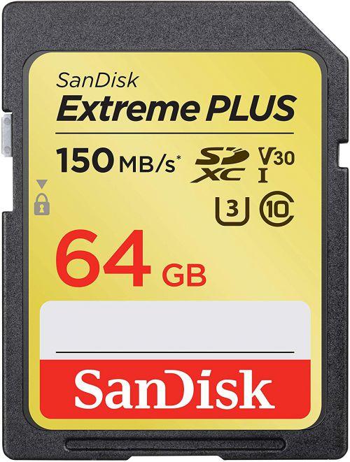 SanDisk 64GB Extreme SDXC