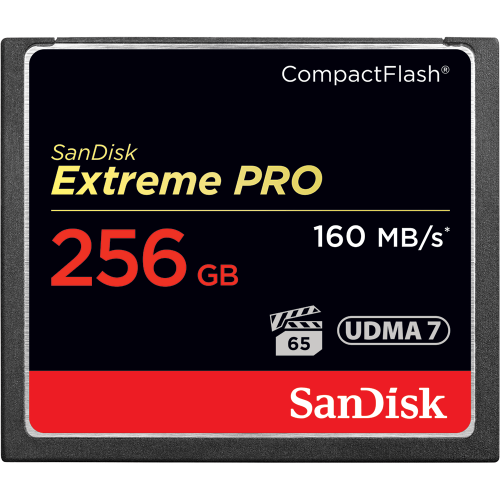Sandisk 256GB Extreme Pro Compact Flash Card