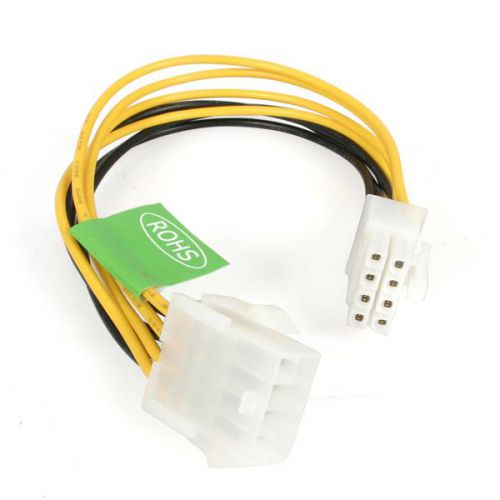 StarTech 8in EPS 8 Pin Power Extension Cable