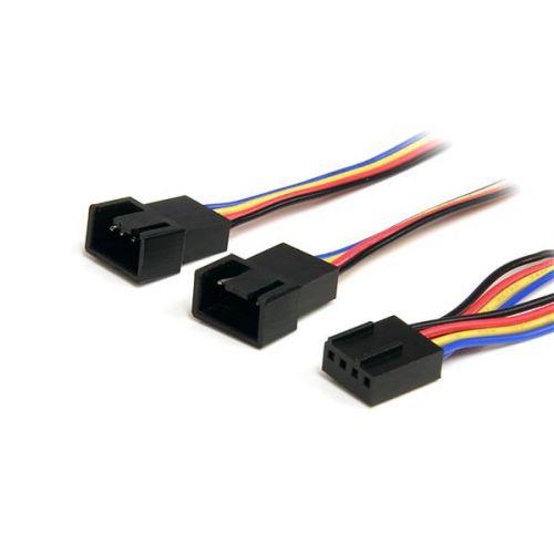 StarTech 12in 4 Pin Fan Power Splitter Cable