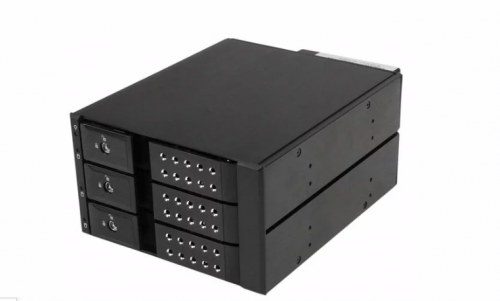 StarTech 3 Bay for 3.5in SAS II SATA III 6 Gbps H