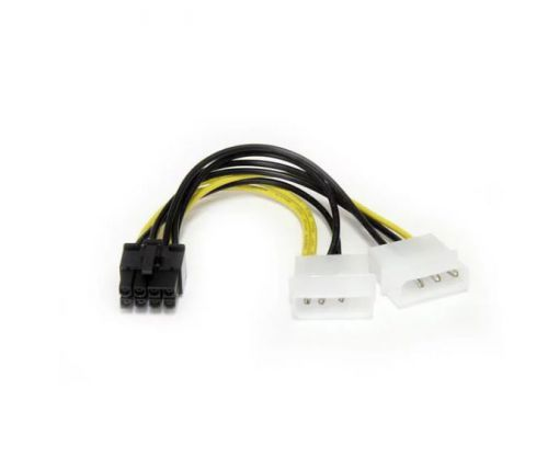 StarTech 6in LP4 to 8 Pin PCIE Video Cable