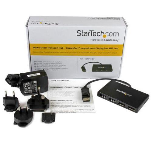 StarTech MST Hub DisplayPort to 4 Port