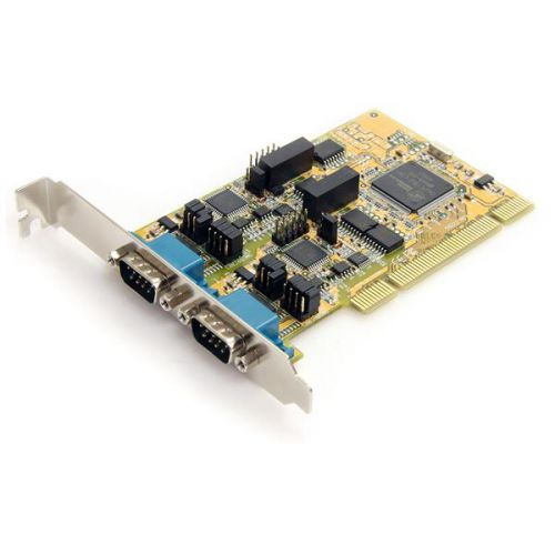 StarTech 2 Port RS232 422 485 PCI Serial Adapter