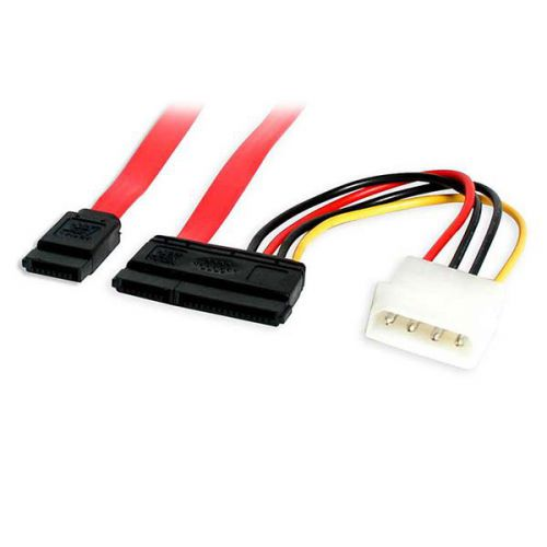 StarTech 18in SATA Data Cable with LP4 Adapter