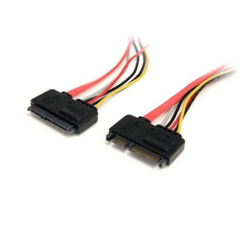 StarTech 12in 22 Pin SATA Power Data External Cable