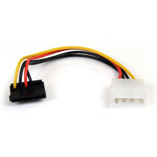 StarTech 4 Pin Molex to Right Angle SATA Cable