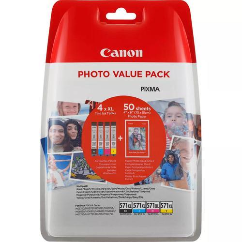 Canon 0332C005  Multi CMYK Ink 7ML