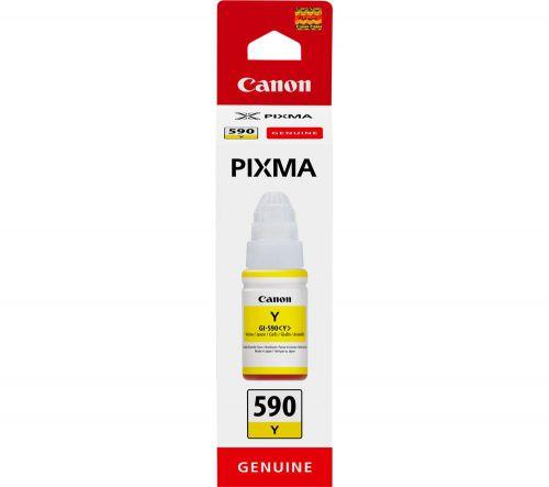 Canon 0666C001 GI490Y Yellow Ink Bottle
