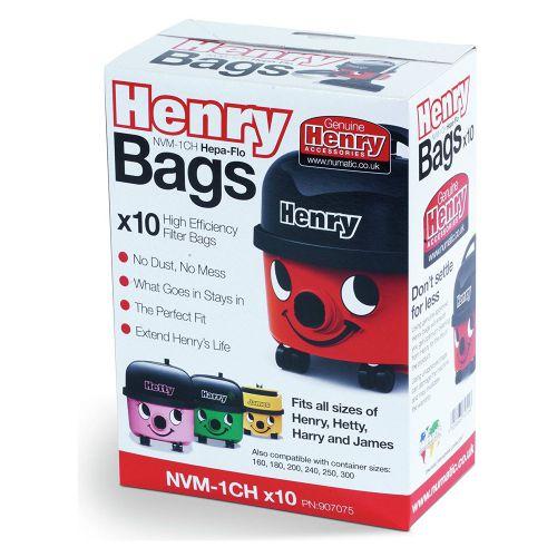 Numatic Hepaflo Dust Bag Pack of 10