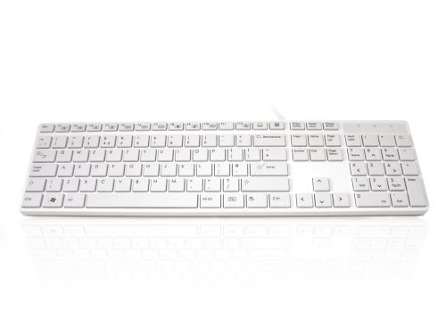 Accuratus 301 USB White Keyboard