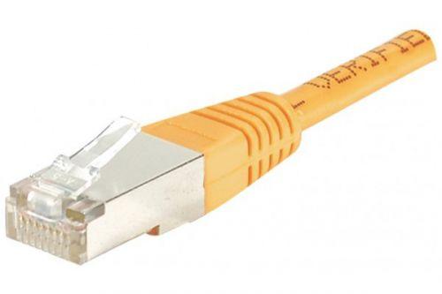 EXC Patch Cable RJ45 cat.5e F UTP Orange 5M