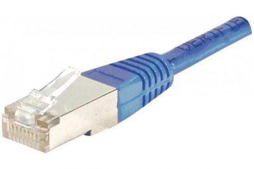 EXC Patch Cable RJ45 cat.6 F UTP Blue 1.5M