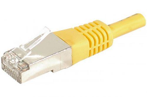 EXC RJ45 cat.6a F UTP Yellow 25M