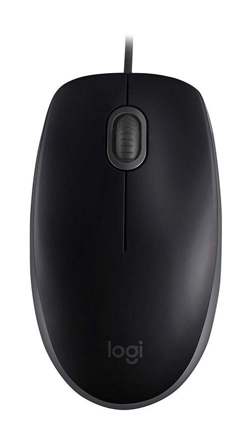 Logitech B110 Silent Black Mouse