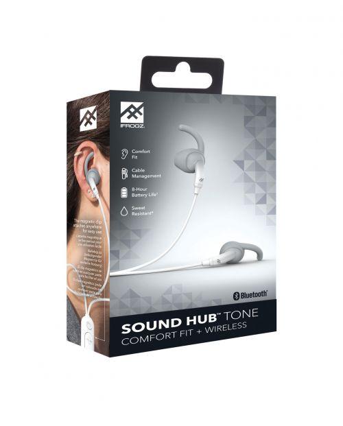 1f425de1868 Zagg IFROGZ Earbud Sound Hub Tone FG Grey