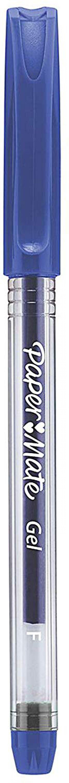 Paper Mate Gel Stick 0.5mm Pen Blue PK12