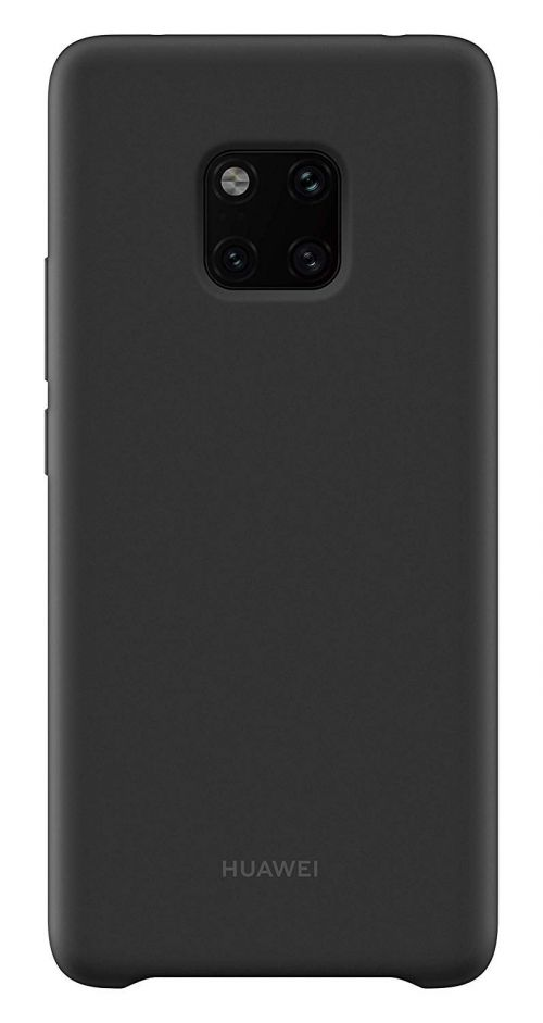 Huawei Mate 20 Pro Silicone Case Black
