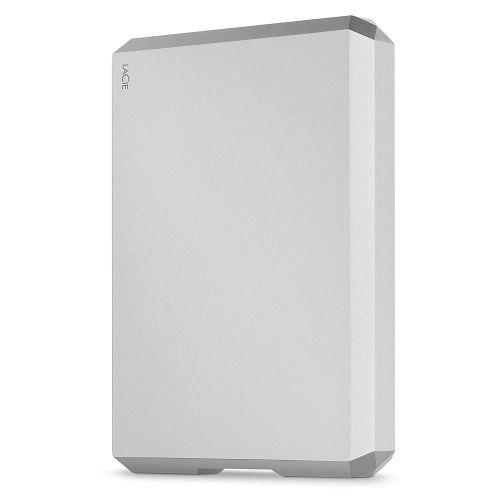 Lacie 5TB USBC Silver External HDD
