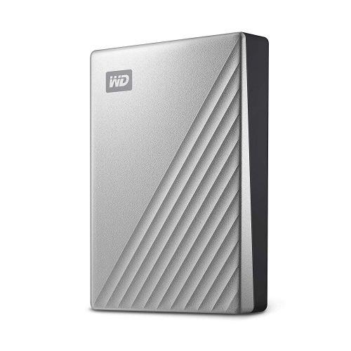 WD 4TB My Passport Ultra Silver External HDD