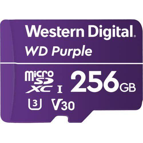 WD 256GB Purple UHS 3 MicroSDXC
