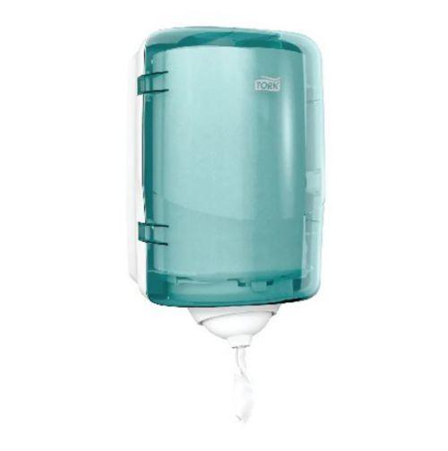 Tork 473167 Reflex M3 Single Sheet Mini Centrefeed Dispenser Plastic Turquise