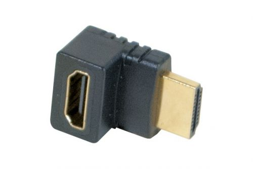 EXC HDMI M.F Adapter Angled 90 Degree
