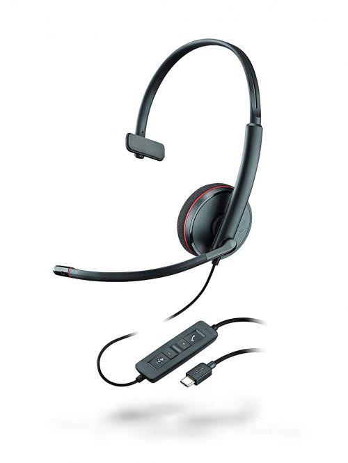 Plantronics Blackwire C3210 USB C Headset