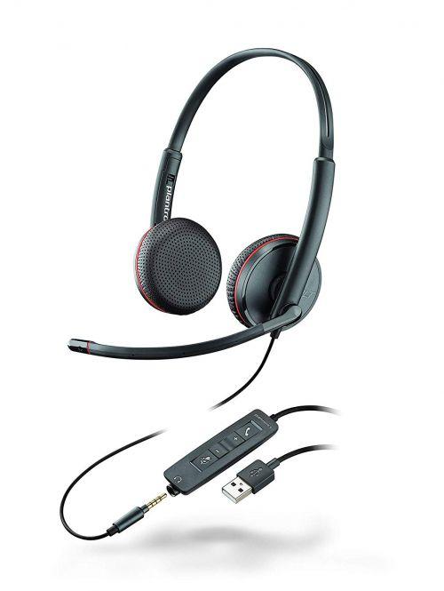 Plantronics Blackwire C3220 USB C Headset