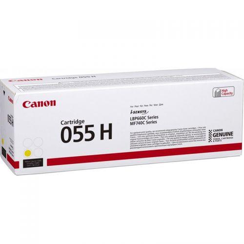 Canon 3017C002 055H Yellow Toner 5.9K
