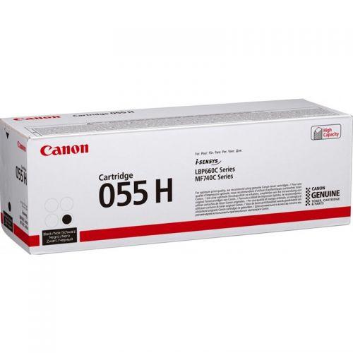 Canon 3020C002 055H Black Toner 7.6K