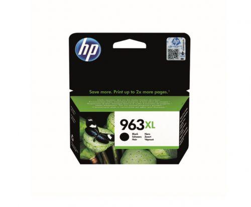 HP 3JA30AE 963XL Black Ink 48ml